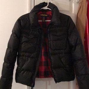 Ralph Lauren Rugby Black Puffer Jacket